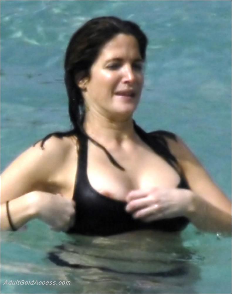 Stephanie Seymour  nackt